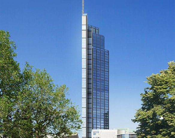 Varso Tower – facade and secondary steel